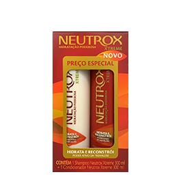 Ilustração - Kit Shampoo 300mL + Condicionador 200mL Neutrox