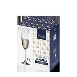 Ilustração - Conjunto de Taças de Cristal para Vinho Bohemia 580mL com 6 unidades